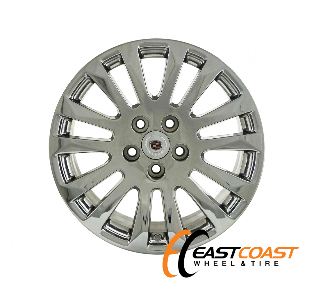CADILLAC CTS 18x9 2010 2011 2012 2013 FACTORY CHROME OEM RIM WHEEL 4673 (REAR)