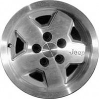 JEEP CHEROKEE 15x7 1987 1988 1989 1990 1991 1992 1993 FACTORY OEM WHEEL RIM MACHINED SILVER 1512