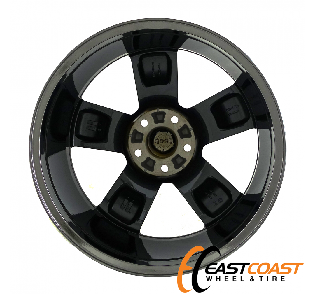 JEEP GRAND CHEROKEE 20X8 2008 2009 2010 2011 2012 2013 FACTORY BLACK CHROME OEM RIM WHEEL 9107