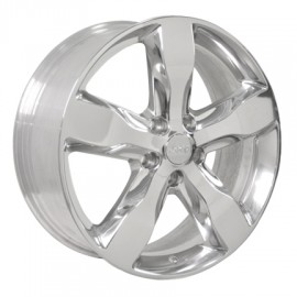 "20"" Jeep Grand Cherokee Overland Polished Rim w/ Blemishes 9107"